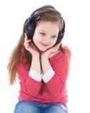 Musik, elektronik, barn och ungdom arkivbild