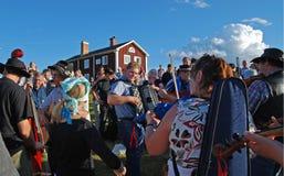 Musik en Suède Images libres de droits