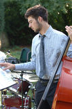 musik för 3 man Fotografering för Bildbyråer