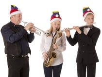 Musik för julfolklek royaltyfria bilder