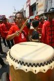 Musik för traditionell kines Arkivfoto