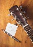 Musik für das Leben Stockfoto
