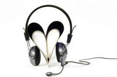Musik für Liebe Stockbild