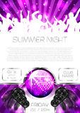 Musik-Flieger - Vektor Stockbild