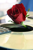 musik för 2 förälskelse Royaltyfri Fotografi