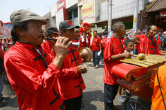 Musik för traditionell kines Royaltyfri Foto