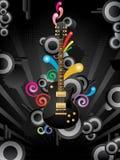 Musik-Hintergrund Stockfotos