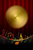 Musik-Hintergrund vektor abbildung