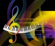 Musik-Hintergrund Stockbild