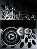 Musik-Hintergrund stock abbildung
