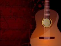 Musik-Hintergrund Lizenzfreies Stockfoto