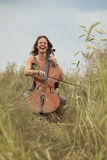 Musik i natur Arkivbilder