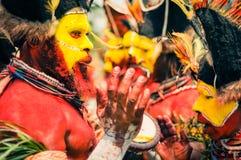 Musik i Papua Nya Guinea Royaltyfria Bilder