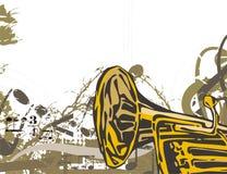 Musik-Instrument-Hintergrund vektor abbildung