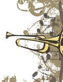 Musik-Instrument-Hintergrund Lizenzfreies Stockbild