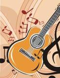 Musik-Instrument-Hintergrund Stockfoto