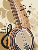 Musik-Instrument-Hintergrund Stockbild