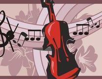 Musik-Instrument-Hintergrund lizenzfreie abbildung