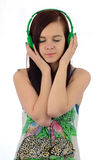 Musik ist meine Welt Lizenzfreies Stockfoto