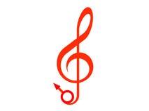 musik könsbestämmer Arkivfoto