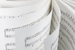 Musik-Kerbe lizenzfreie stockfotografie