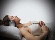 musik kopplar av arkivfoton
