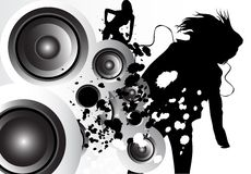 Musik-Liebe Stockfotografie