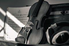 Musik: Maten för anda` s royaltyfri foto