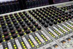 Musik-Mischer Lizenzfreies Stockfoto