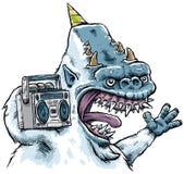 Musik-Monster Stockbild