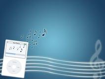 Musik-MP3-Player Stockfoto