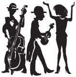 Musik, Musiker Vektor Abbildung