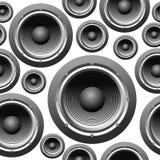 Musik-nahtloser Hintergrund Stockfotos