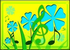 Musik-Natur lizenzfreie abbildung