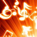 Musik noterar Royaltyfri Foto