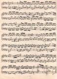 Musik noterar texturerar Fotografering för Bildbyråer