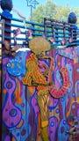 Musik och konst kolliderar Royaltyfri Fotografi