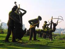 Musik och natur royaltyfri foto