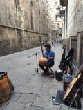Musik på gatorna arkivfoton