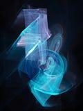 musik rays tecknet vektor illustrationer