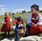 Musik in Schweden Lizenzfreies Stockbild