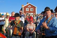 Musik in Schweden lizenzfreies stockfoto