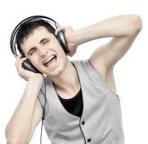 Musik-Schwingungen stockbild
