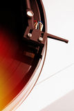 musik som leker registrerad turntablevinyl Fotografering för Bildbyråer