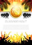 Musik-Sommer-Hintergrund - Vektor Stockfotografie