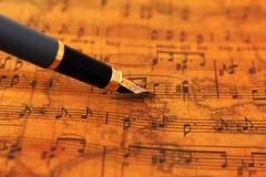 Musik täcker Royaltyfria Foton