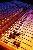 Musik und Musikmischer Lizenzfreies Stockfoto
