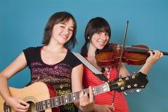 Musik und Spaß lizenzfreies stockbild