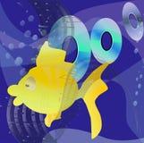 Musik Unterwasser Lizenzfreie Stockbilder