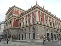 Musik Varein, Wien, Österrike Royaltyfria Foton
